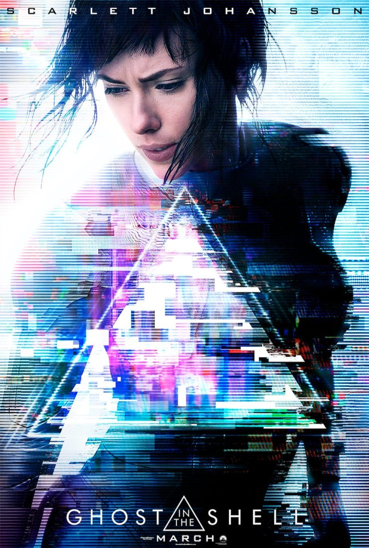 ghostintheshell poster - New Ghost in the Shell Videos Introduce Major C, Provide a Remix, and More!
