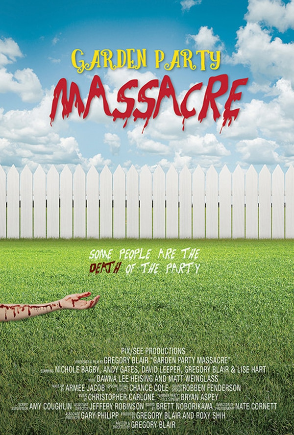 Garden Party Massacre Movie Poster - Please Yourself with a New Trailer for Garden Party Massacre