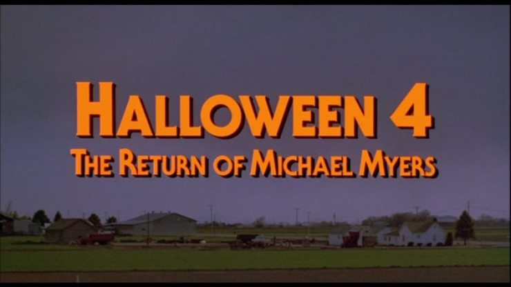 halloween 4 movie title 1 - Halloween 4: The Return of Michael Myers Is an Undervalued Sequel