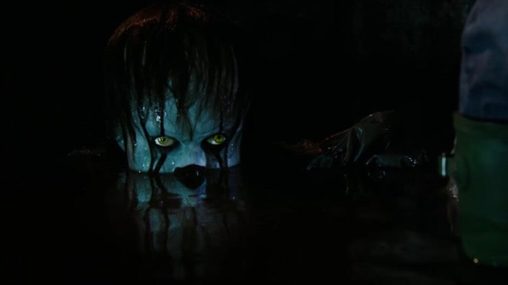 pennywisesewerit 1024x575 - Stephen King's IT - New Look at Pennywise and MORE!