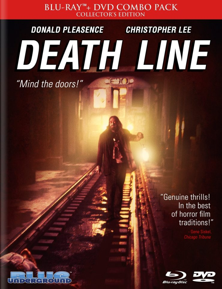 deathline - Here's a First Look At Blue Underground's Upcoming Death Line Blu-ray