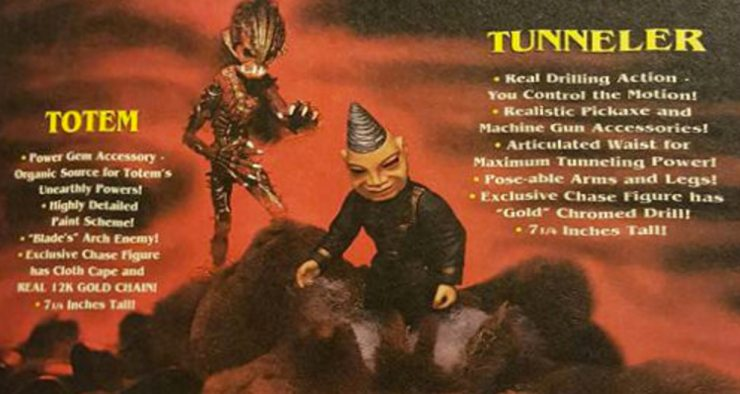 pm figures tunneler totem - No Strings Attached: Remembering the Puppet Master Action Figure Series