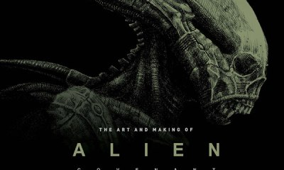 Art of Alien Covenant s - Win a Copy of The Art and Making of Alien: Covenant from Titan Books