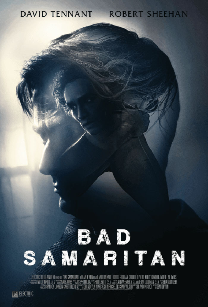 Bad Samaritan movie poster - Actor Robert Sheehan to Attend Free NYC Bad Samaritan Screening Next Thursday