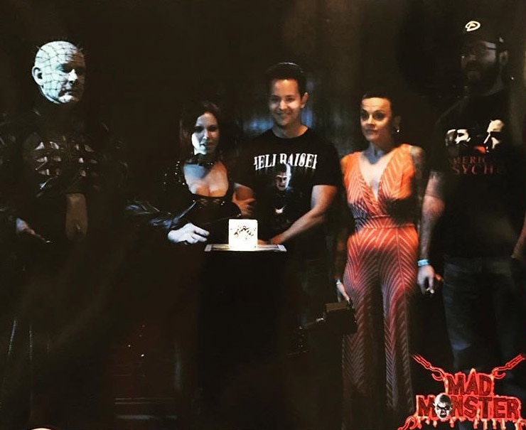 Doug Pinhead 5 - The Pinhead Experience - See Fans Raising Hell With Doug Bradley