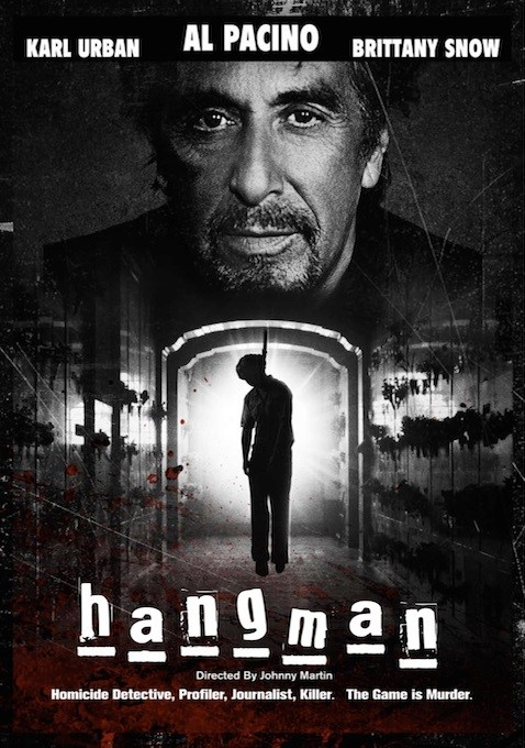 Hangman movie poster - Al Pacino in Hangman - Poster Premiere and Stills