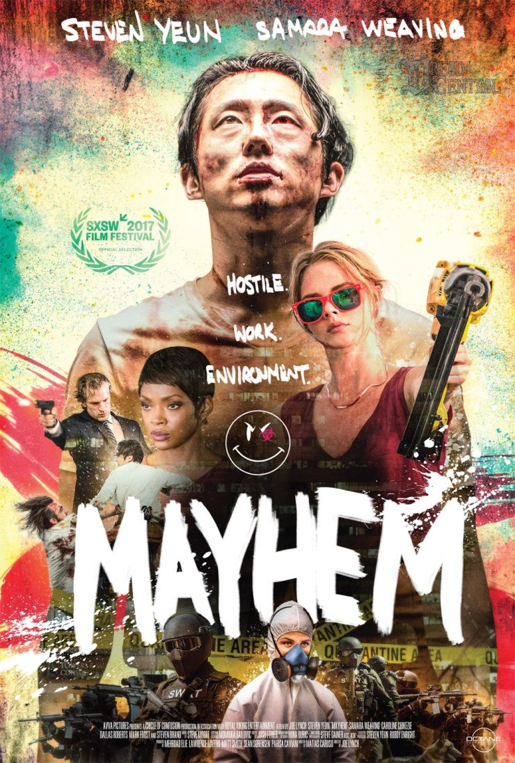 Mayhem - It's Time to Unleash Mayhem! Watch the Trailer for Joe Lynch's Action-Packed Extravaganza!
