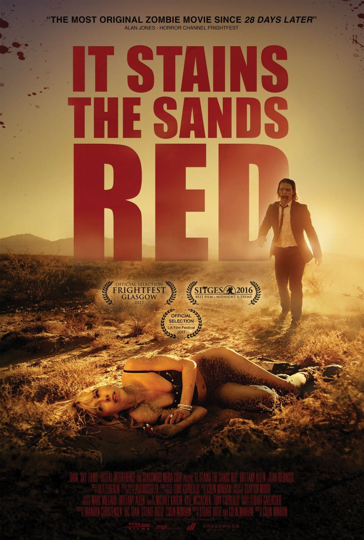 itstainsthesandredposter - It Stains the Sands Red Will Stain Your DVD Collection Next Week
