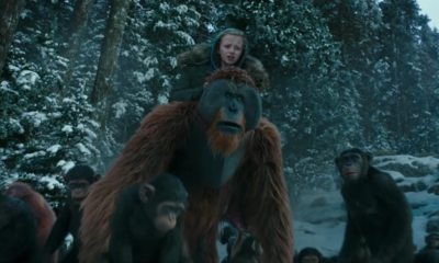 warfortheplanetoftheapesfinaltrailerbanner - New War for the Planet of the Apes Videos Cement the Film's Legacy