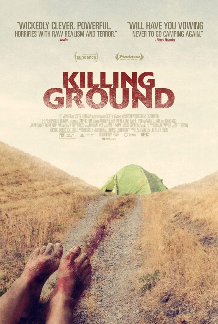 killing ground poster - New Killing Ground Poster Drags Us Away