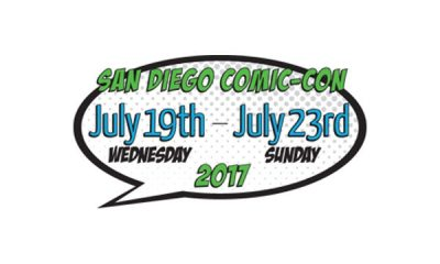 sdccdate2017 - #SDCC17: The Horrors of Day 1 (July 20) Include Death Note, The Exorcist, Ghostbusters, Goosebumps, The Strain, Teen Wolf, Van Helsing, Stan Against Evil, and More!