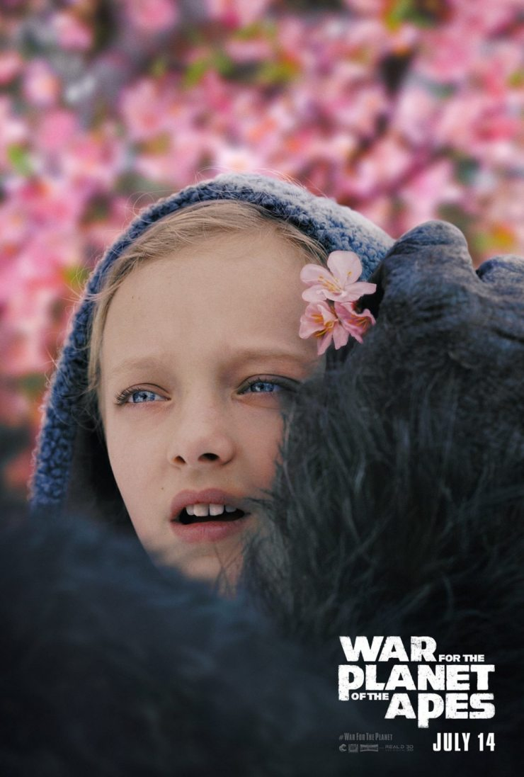 war for the planet of the apes - War for the Planet of the Apes - Meet Nova!