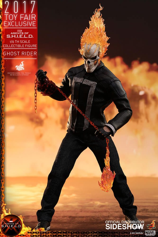 Ghost Rider agents of s.h.i.e.l.d. hot toys figure10 1 - Hot Toys Fires Up Its Ghost Rider Action Figure