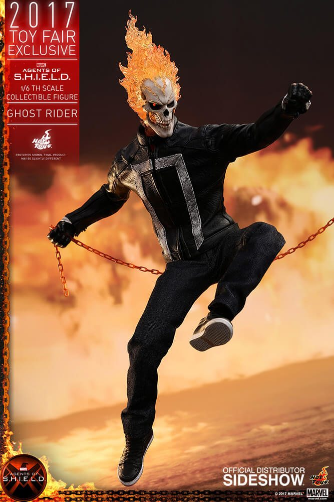 Ghost Rider agents of s.h.i.e.l.d. hot toys figure11 1 - Hot Toys Fires Up Its Ghost Rider Action Figure