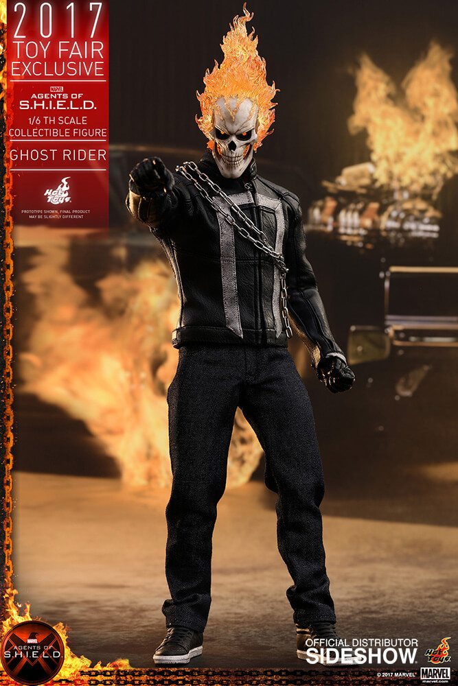 Ghost Rider agents of s.h.i.e.l.d. hot toys figure6 1 - Hot Toys Fires Up Its Ghost Rider Action Figure