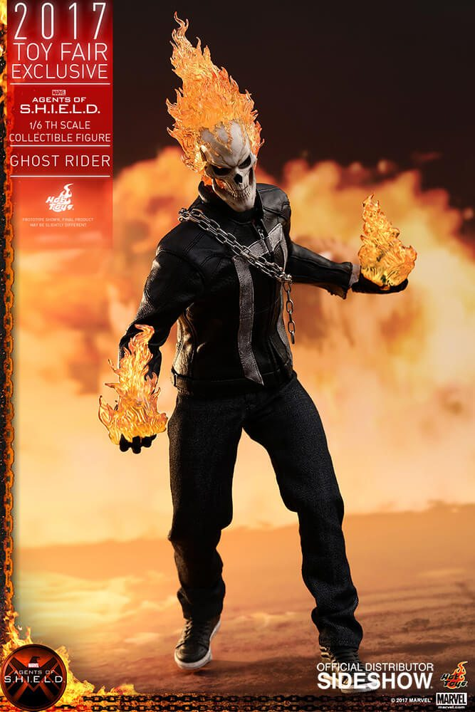 Ghost Rider agents of s.h.i.e.l.d. hot toys figure8 1 - Hot Toys Fires Up Its Ghost Rider Action Figure