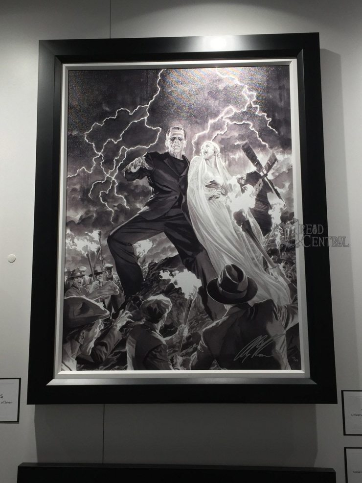 alex ross 2 - #SDCC17: Alex Ross' Universal Monsters Artwork Steals the Show