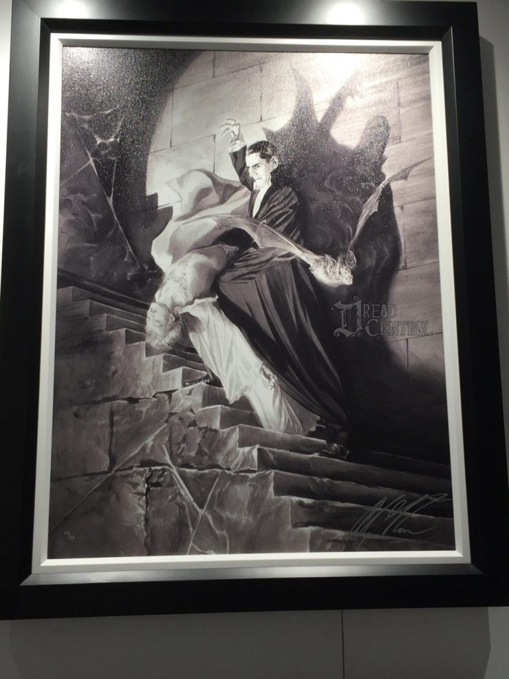 alex ross 4 - #SDCC17: Alex Ross' Universal Monsters Artwork Steals the Show