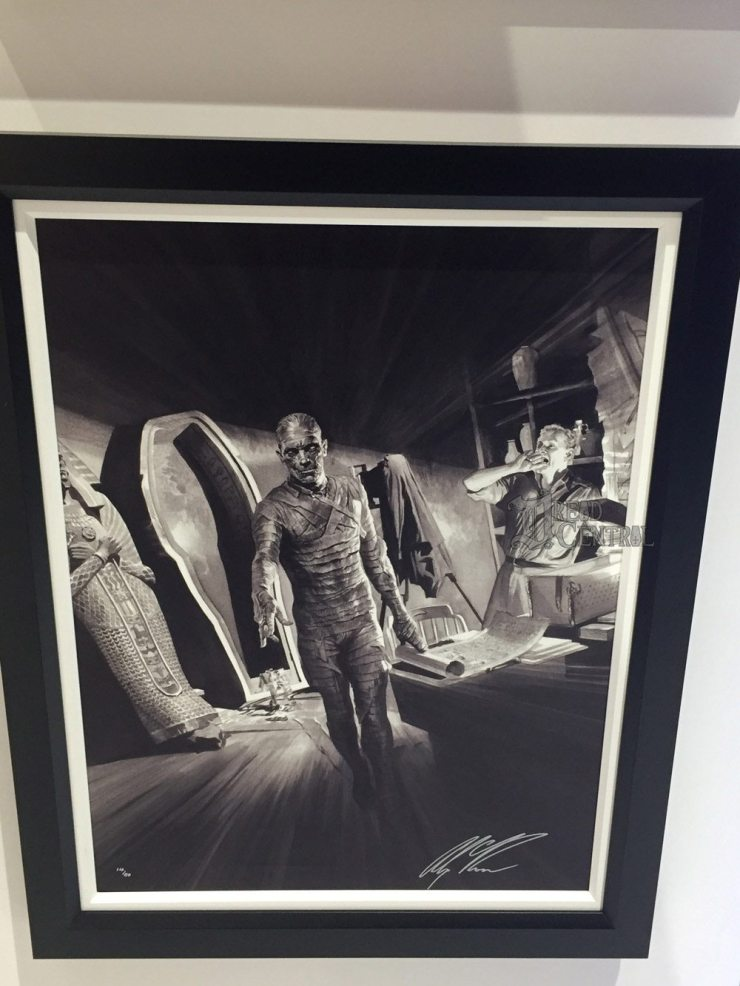 alex ross 6 - #SDCC17: Alex Ross' Universal Monsters Artwork Steals the Show