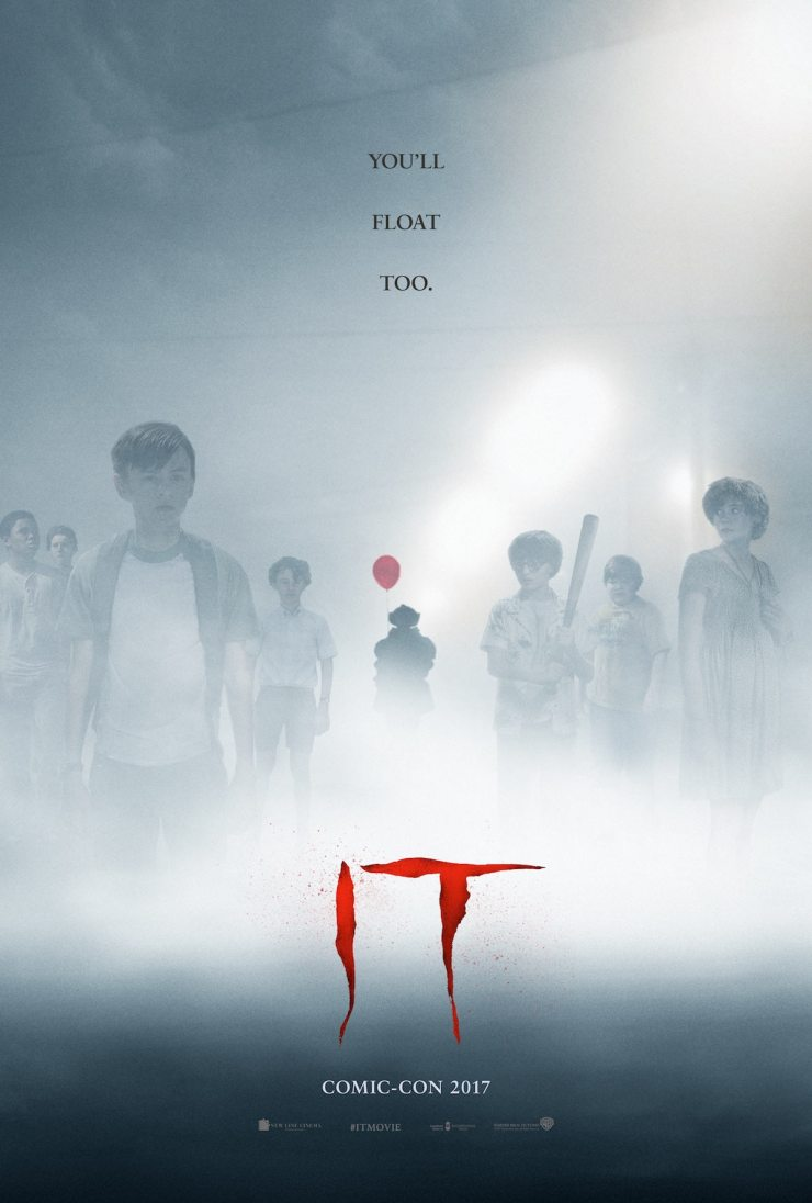 itcomicconposter - Attention Boston: See Stephen King's IT on Us!