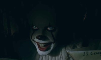 pennywiseboatbanner - Start Floating! The Second Full-Length Trailer For IT is Here!