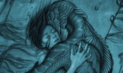 shapeofwaterposterbanner - Red Band Trailer For Del Toro's The Shape of Water Released