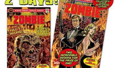 COUNTDOWN 2 min - The official sequel to LUCIO FULCI'S ZOMBIE coming in just TWO DAYS!