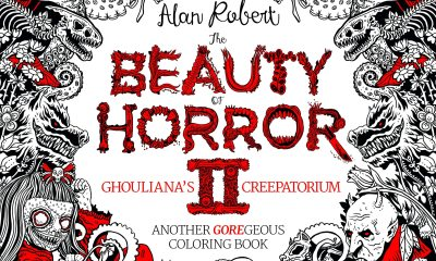 alanrobertsbeautyofhorrorII - Alan Robert Releases a Page from The Beauty of Horror II: Ghouliana's Creepatorium