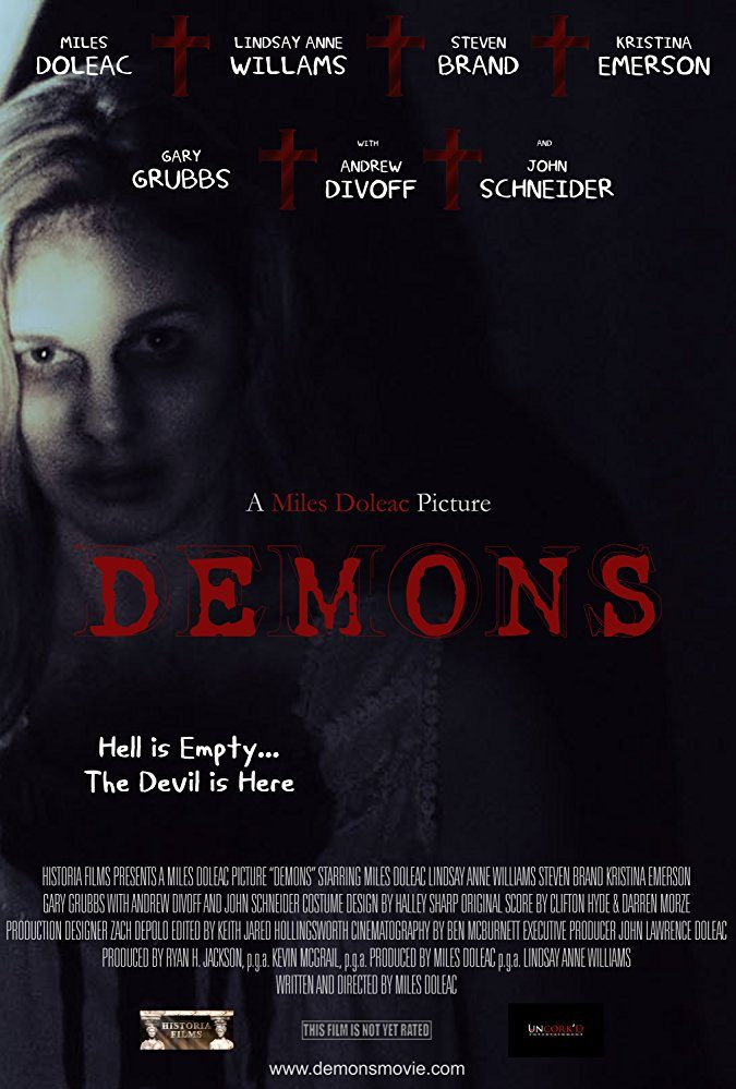 demons poster - First Look at Miles Doleac's Demons; Shooting for October Release