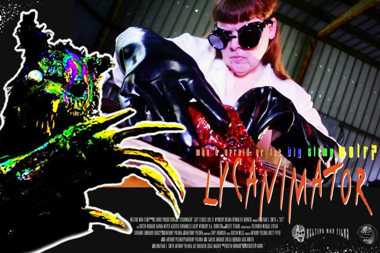 lycanimator theatercard 4 - Exclusive Lobby Cards From the Upcoming Creature Feature Lycanimator