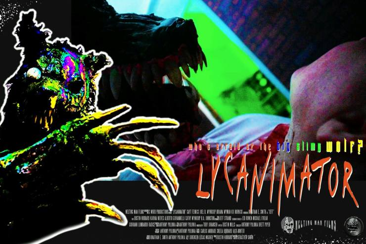 lycanimator theatercard 5 1 - Exclusive Lobby Cards From the Upcoming Creature Feature Lycanimator