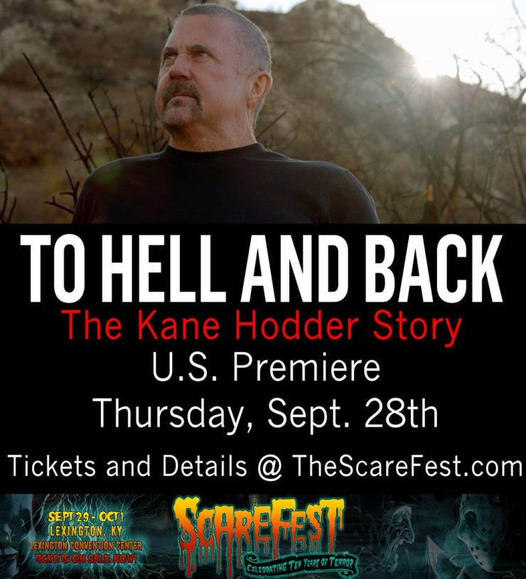 TheScareFesthodder - ScareFest to Go To Hell and Back with Kane Hodder Story
