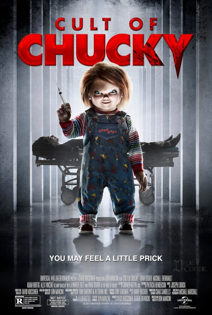 Cult of Chucky Poster theatrical - Cult of Chucky Theatrical Poster Will Give You a Little Prick