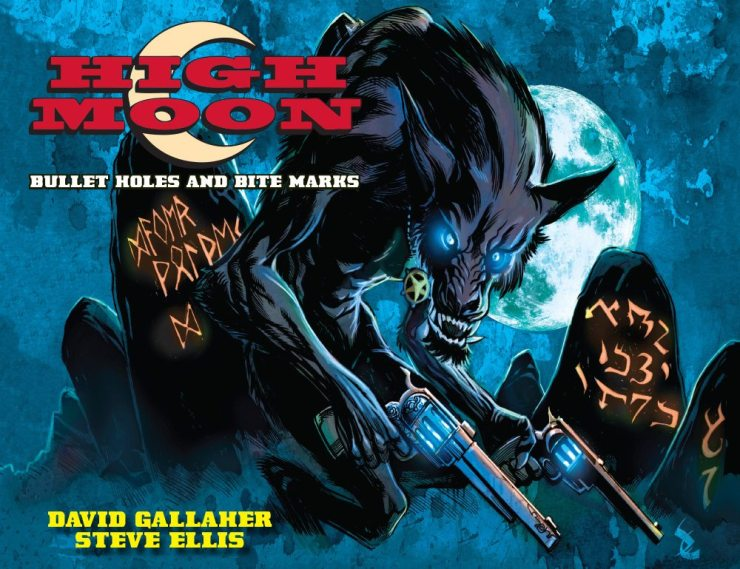 HighMoonCoverV1 - Exclusive: Preview Pages From the Werewolf Western Comic High Moon