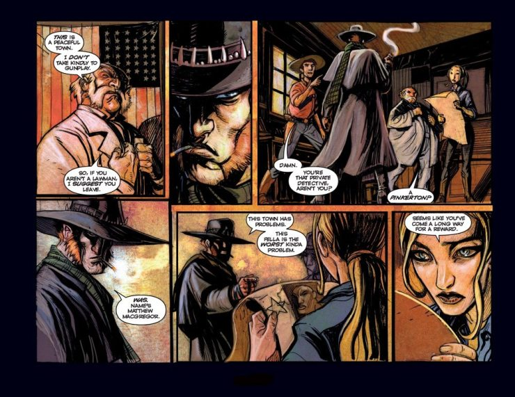 High Moon Page4 - Exclusive: Preview Pages From the Werewolf Western Comic High Moon