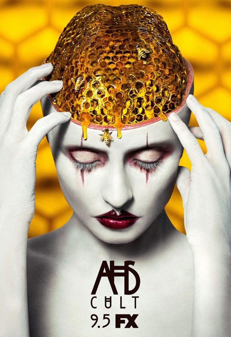 """ahs cult beehive brain poster - AHS: Cult Ep. 9 """"Drink the Kool-Aid"""" Gets a Promo"""
