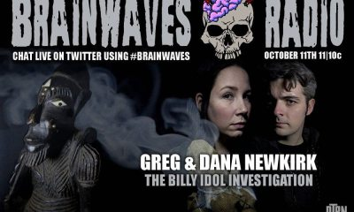 brainwaves newkirk october - #Brainwaves Episode 63: Paranormal Investigators Greg and Dana Newkirk: The Billy Idol Investigation! LISTEN NOW!
