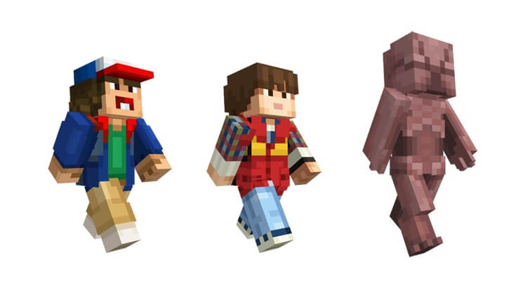 Stranger Things Costumes Come To Minecraft Dread Central
