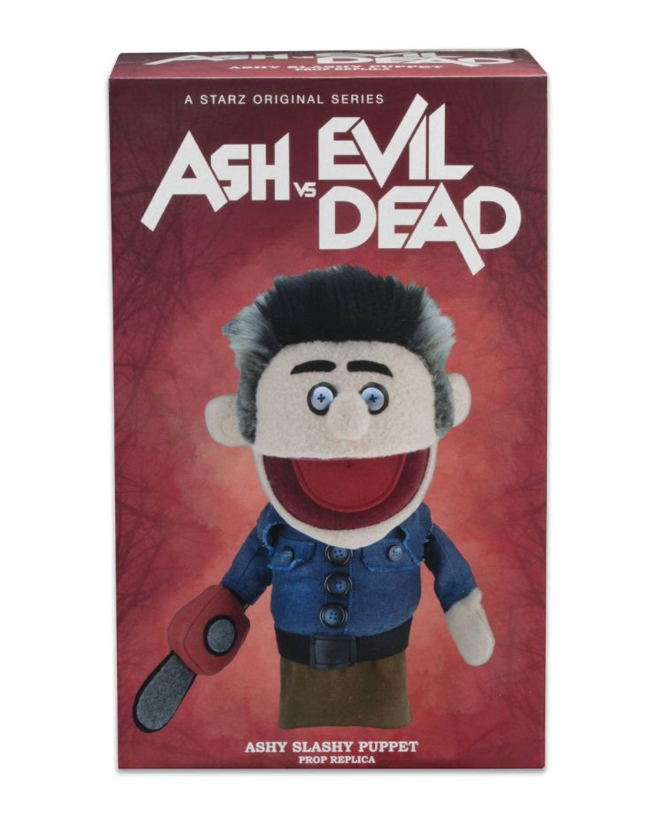 Ashy Slashy package 01 - NECA Announces Ashy Slashy Puppet Replica