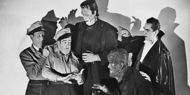 Fright Night 1985 Abbott and Costello Meet Frankenstein - Fearsome Facts: 8 Things You Didn't Know About Fright Night (1985)