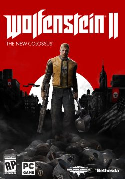 ROW Wolfenstein II pc frontcover 01 1496855116 1024x1461 - Wolfenstein II: The New Colossus Video Game Review - Doesn't Evolve Mechanically Enough to be Really Memorable