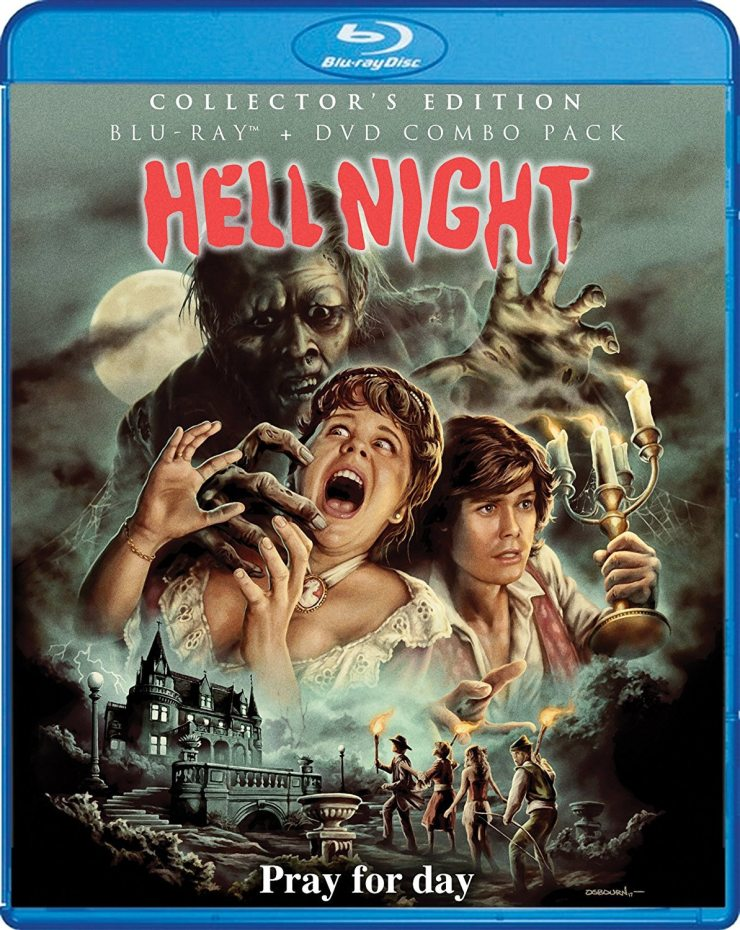 hell night blu ray - Exclusive: Get Chased by this Hell Night Blu-ray Clip