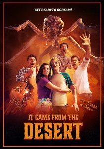 it came form the desert poster 1 210x300 - Exclusive: IT CAME FROM THE DESERT Clip Pays Homage to JURASSIC PARK