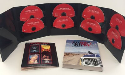 stephenking8cd 2 - 8-CD Stephen King Boxset Now Available From Varèse Sarabande Records
