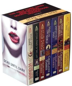 Charlaine Harris Southern Vampire Series Books 1 8 250x300 - 10 Ghoulish Gifts for the Horror-Loving Lady in Your Life by Staci Layne Wilson