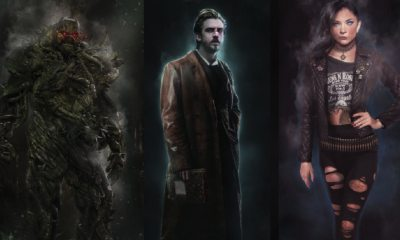 JLD - Abandoned Justice League Dark Art Shows Us Swamp Thing and Dan Stevens as Constantine