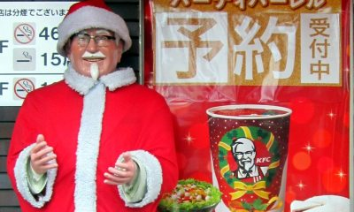 christmas kfcs - 10 Truly Wacky Xmas Facts, Happenings and Traditions