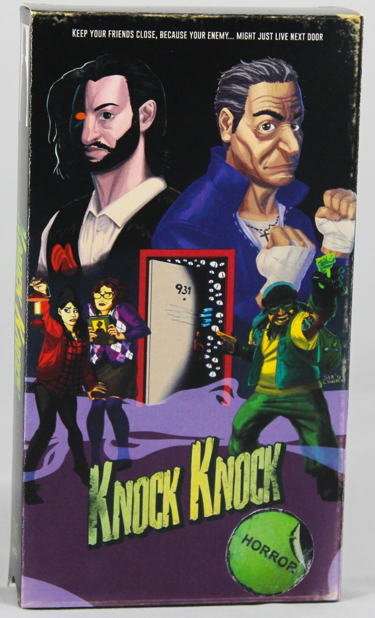 knock knock 1 - Knock Knock! Who's There? An 80s-Inspired Horror Comedy