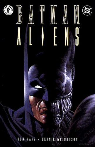 BatmanAliens - Superheroes You Never Realized Battled Xenomorphs