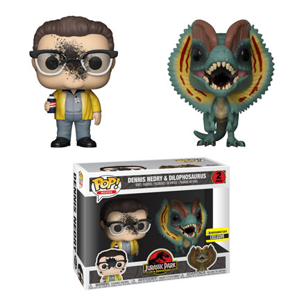 funko jurassicpark10 - Funko Giving Jurassic Park the Pop! Treatment as Only They Can